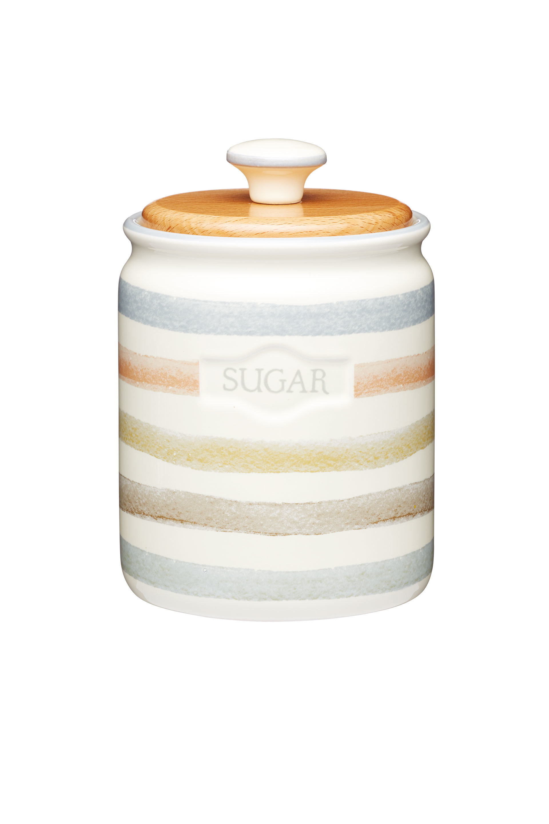 ceramic kitchen storage containers classic collection striped ceramic sugar container 5184