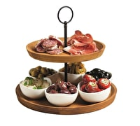 Artesà Appetiser Two Tier Serving Set