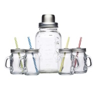 Bar Craft Glass Cocktail Kit