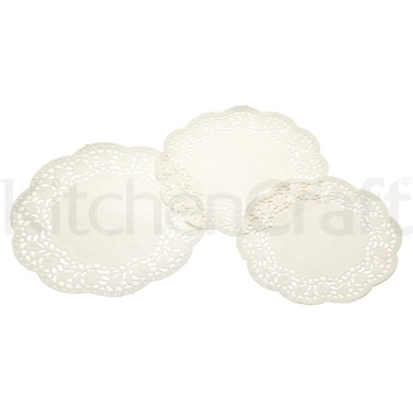 Sweetly Does It Pack of 24 Paper Doilies
