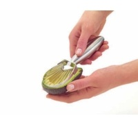 MasterClass Stainless Steel Avocado Slicer