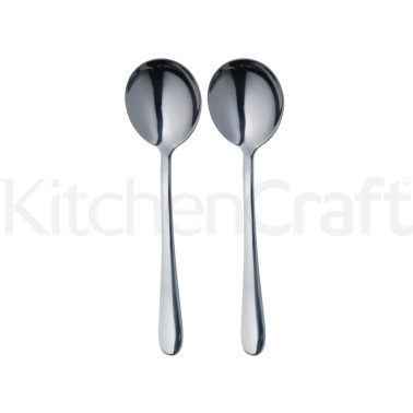 Master Class Set of 2 Soup Spoons