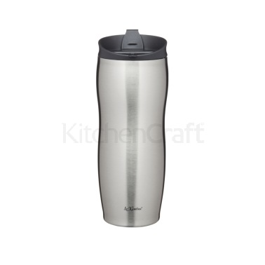 Le'Xpress 400ml Stainless Steel Double Walled Insulated Travel Mug