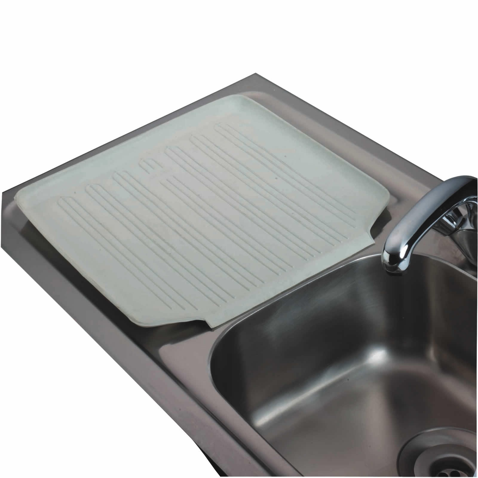 Kitchencraft Rubber Draining Board Mat Cleaning