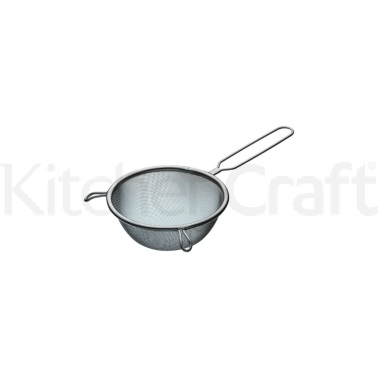 Kitchen Craft Stainless Steel 14cm Round Sieve