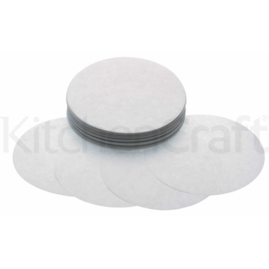 KitchenCraft Quarter Pounder Burger Wax Discs