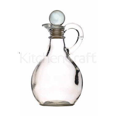 KitchenCraft Glass Oil / Vinegar Bottle