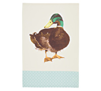 KitchenCraft Set of 2 Farmyard Animals Tea Towels