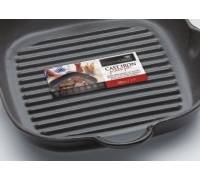 MasterClass Cast Iron Square Grill Pan