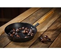 KitchenCraft Carbon Steel Chestnut Pan