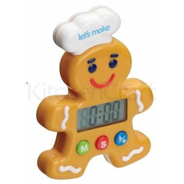 Let's Make Gingerbread Man Digital Timer