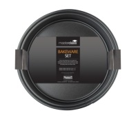 MasterClass Twin Pack - Non-Stick 20cm and 23cm Spring Form Pans