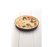 MasterClass Crusty Bake Non-stick Fluted Round 23cm Quiche Tin