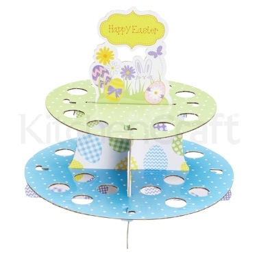 Hoppity Does It Easter Egg and Cupcake Stand