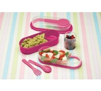 Coolmovers Pink Lunch & Snack Box