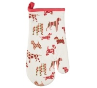 Kitchen Craft Dog Silhouette Single Oven Glove
