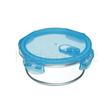 Pure Seal Glass Round 600ml Storage Container