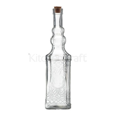 World of Flavours Italian Traditional Glass Oil Bottle