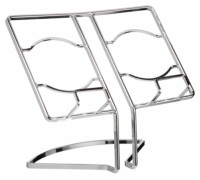 Master Class Deluxe Chrome Wire Cookbook Stand