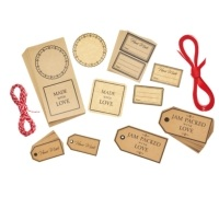 Home Made Gift Tag & Label Set