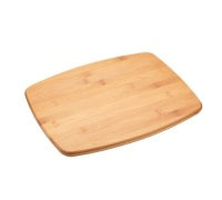 Kitchen Craft Large Reversible Bamboo Chopping Board / Cork Trivet