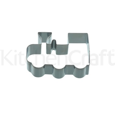 KitchenCraft 9cm Train Shaped Cookie Cutter