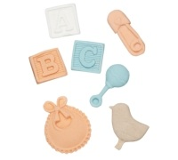 Sweetly Does It Baby Christening Silicone Fondant Mould