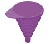 Colourworks Purple Collapsible Silicone Funnel