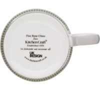 Kitchen Craft Fine Bone China Apple Flute Mug