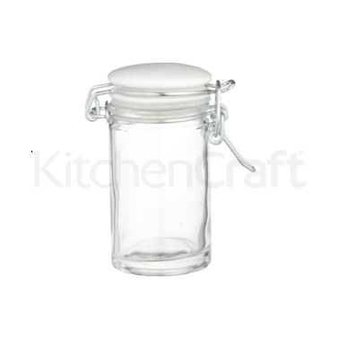 Home Made Mini Clip Top 70ml Glass Jar