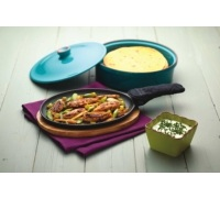 KitchenCraft Mexican Cast Iron Fajita Sizzler
