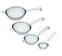 Master Class Stainless Steel 18cm Fine Mesh Sieve