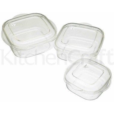 Kitchen Craft Microwave Casserole 3 Piece Set