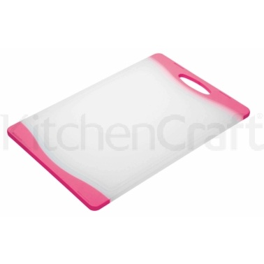 Colourworks Pink Reversible Chopping Board