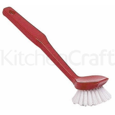 KitchenCraft Assorted Coloured Plastic Dish Wash Brushes