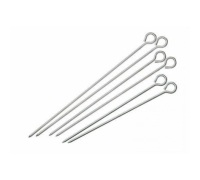Lot de six brochettes de tailles assorties