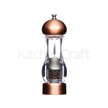 Master Class Medium Copper Effect Filled Pepper Mill