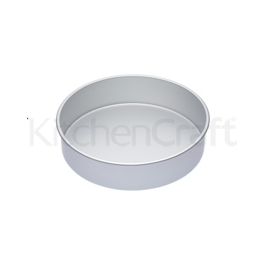 Master Class Silver Anodised 30cm Deep Cake Pan