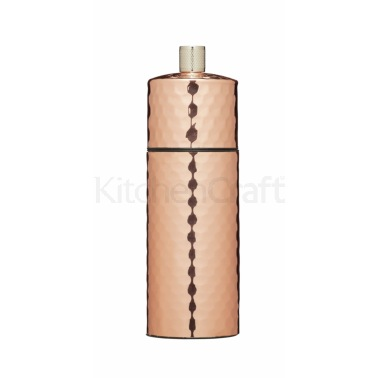 MasterClass 13cm Hammered Copper Pepper Mill