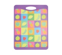 Kitchen Craft Large Fruit Design Cut & Serve Reversible Board