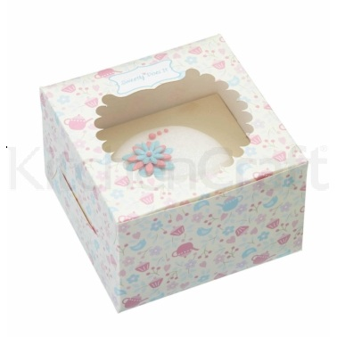 Sweetly Does It Pack of 4 Paper Cake Boxes