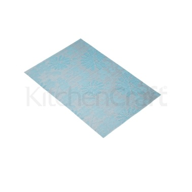 KitchenCraft Woven Blue Flower Placemat