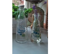 Home Made Traditional 500ml Glass Bottle / Vase