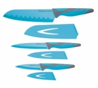 Colourworks 3 Piece Blue Knife Starter Set