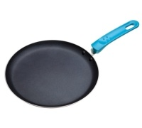 Colourworks Blue Crêpe Pan with Soft Grip Handle