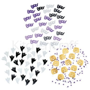 Spookily Does It Pack of 3 Assorted Halloween Table Confetti