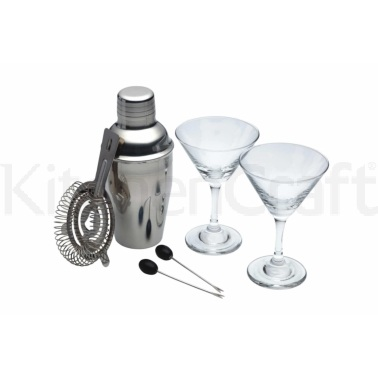 Luxe Lounge set di 6 mini cocktail Martini