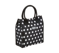 Coolmovers 4 Litre Black Polka Lunch / Snack Cool Bag
