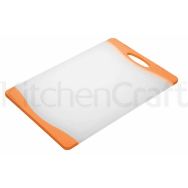 Colourworks Orange Reversible Chopping Board
