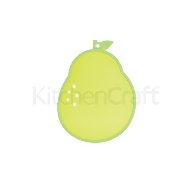 Kitchen Craft Pear Shaped Cut & Serve Reversible Board